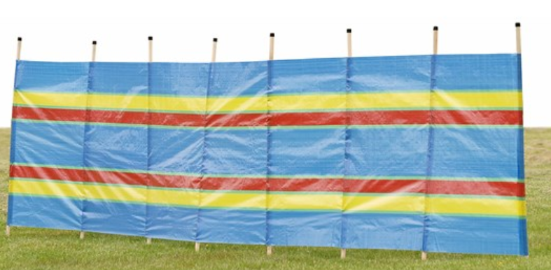 Traditional Windbreak Kingfisher 8 Pole