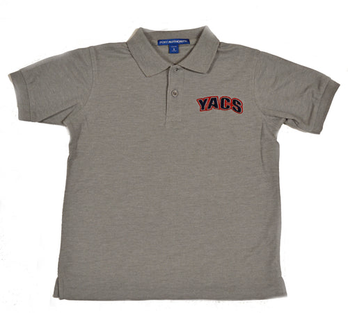 Adult Polos Red, Navy, and Gray