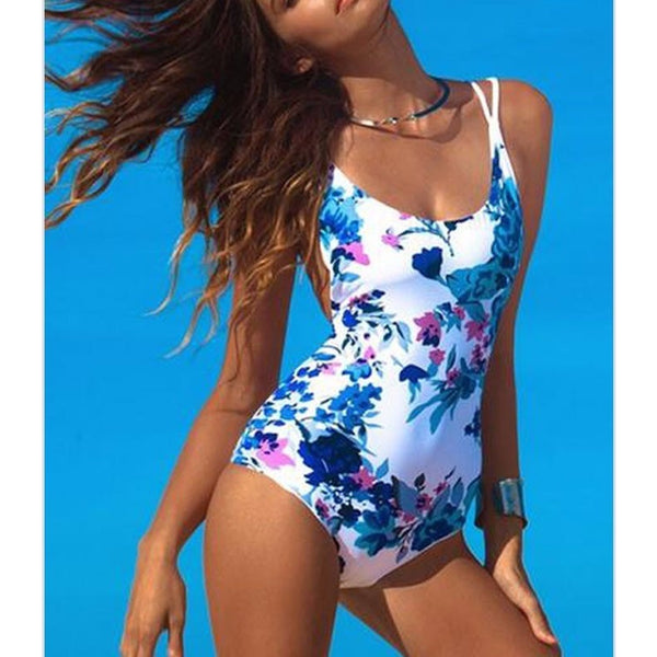 Printed One Piece Women's Swimsuit at ModernLifeWay.com