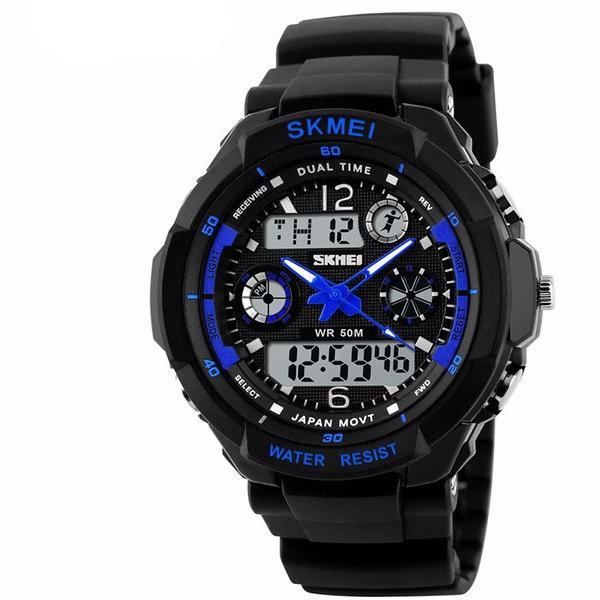 Men's Military Digital Sports Watch LED Screen at ModernLifeWay.com