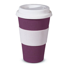 "Becher ""Coffee to go""  lila"