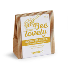"Festes Glanz-Shampoo ""Bee Lovely"" Verpackung"