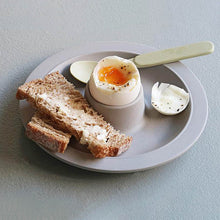 "Bambus-Eierbecher ""Dippy Egg"", grau"
