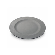 "Teller ""Small Plate, hammered"" grau"