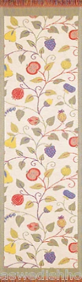 Ekelund Floral Organic Cotton Table Runner