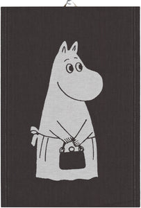 "EKELUND ""Big Moomin Mama"" Organic Cotton Decorative Hand Towel  35 x 50 cm"