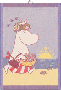 "EKELUND ""Summer Day"" Organic Cotton Decorative Hand Towel  35 x 50 cm"