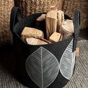 "MUURLA Recycled PET Storage Basket Large ""Leaf"""