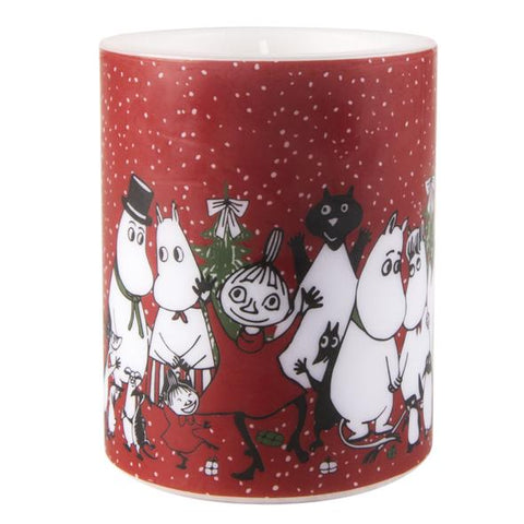 "MUURLA Moomin Candle ""Winter Magic"" 8 cm"