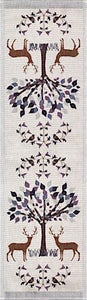EKELUND Fauna Organic Cotton Table Runner