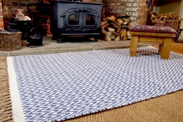 GOSIG Denim Recycled Cotton Rug 120x180 cm