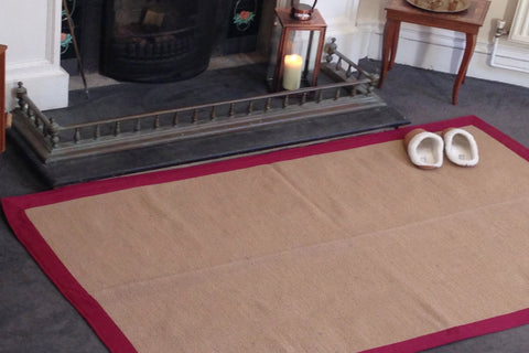 TUFF Jute Rugs with cotton border