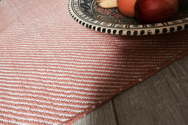 Gotland herringbone cotton mats 4 colours