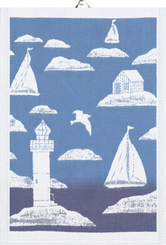 "EKELUND ""Kobbar"" Organic Cotton Decorative Hand Towel  35 x 50 cm"