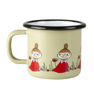 "MUURLA Moomin ""Little My"" Enamel Mug 1.5 dl Toddler Size"