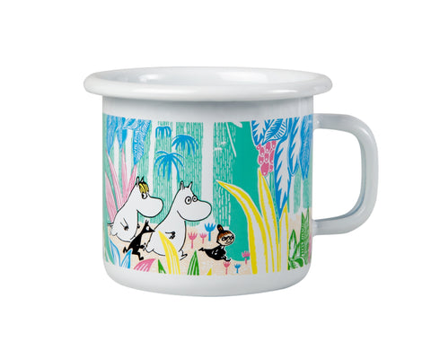 MUURLA Moomin in the Jungle enamel cup