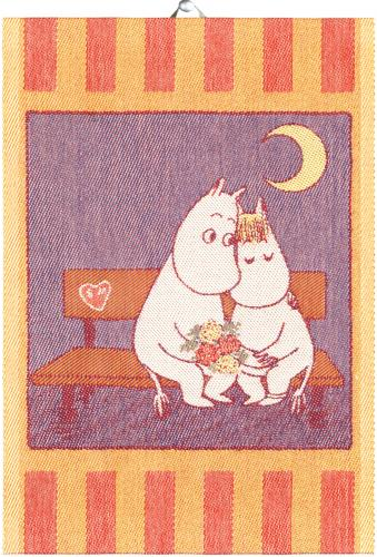 Ekelund Sweethearts Moomin Organic Cotton Towel