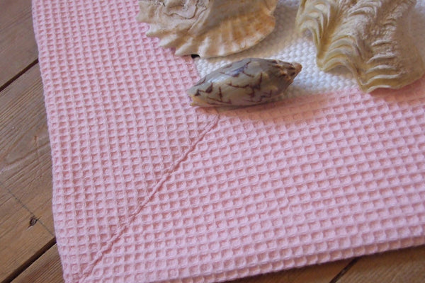 BEBÉ Cotton Rich Rugs with Waffle Border 2 colours 100 x 150 cm Sale!