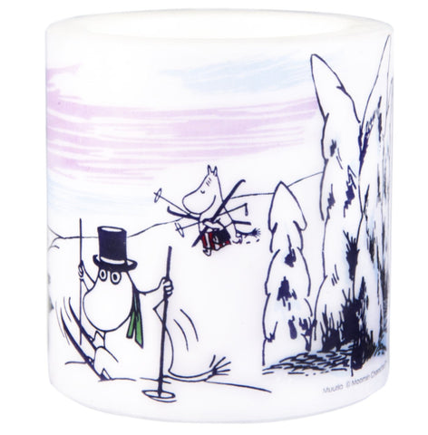 MUURLA Moomin Candle Winter Trip 8 cm