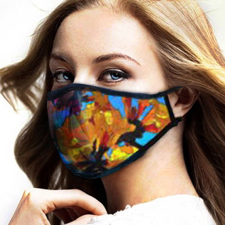 LES MAYERS DESIGN STUDIO INTRODUCES FACE MASKS DESIGNED AS FASHION ACCESSORIES