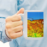 CERAMIC COFFEE MUG 15OZ. - 02 - AROUND LA