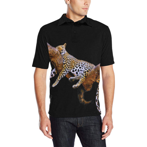 MEN'S POLO SHIRT 02 - IN THE JUNGLE