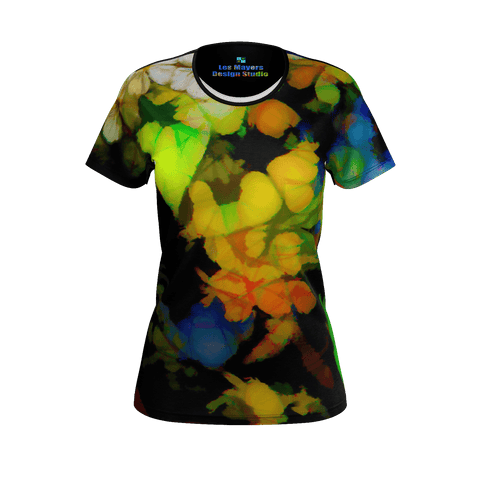 WOMEN'S TEE SHIRT 02 - IN THE GARDEN
