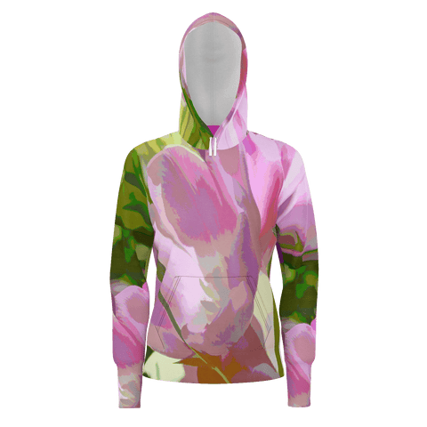 WOMEN'S SWEATSHIRT HOODIE 01 - IN THE GARDEN