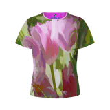 GIRL'S TEE SHIRT 01 - IN THE GARDEN