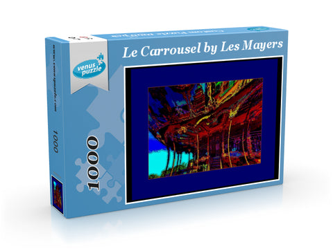 PUZZLE - LE CAROUSEL 01 - CAROUSEL COLLECTION