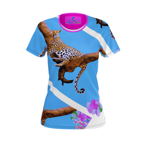 WOMEN'S TEE SHIRT 01 - IN THE JUNGLE