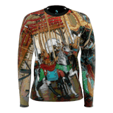 WOMEN'S SWEATSHIRT 02 - AROUND LA / SANTA MONICA PIER CAROUSEL
