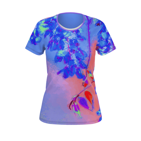 WOMEN'S TEE SHIRT (SHORT SLEEVE) - 15 - IN THE GARDEN