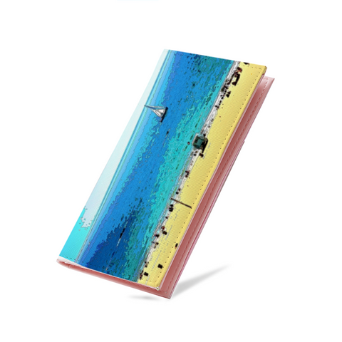 WOMEN'S WALLET 01 - AT THE BEACH