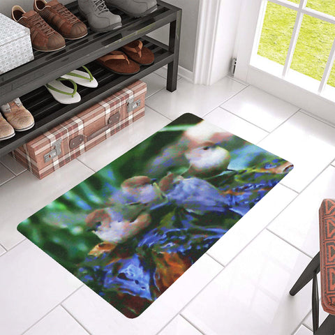 FLOOR MAT (RUBBER) 02 - WILD BIRDS UNLIMITED