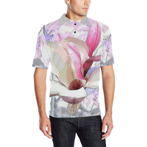 MEN'S POLO SHIRT 03 - IN THE GARDEN