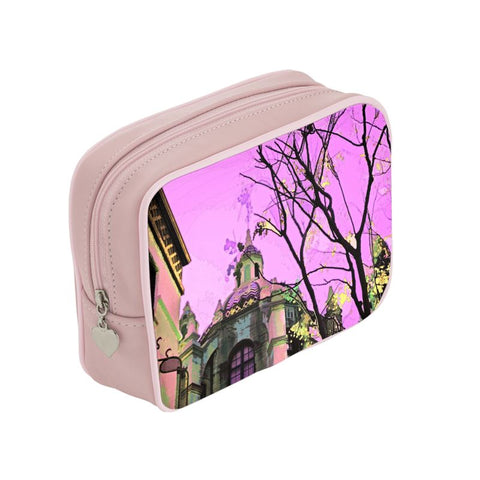 A WOMEN'S MAKEUP BAG 01 - AROUND LA / MISSION INN