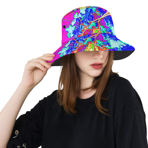 WOMEN'S BUCKET HAT 01 - IN THE GARDEN