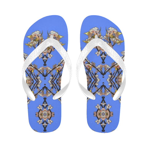 WOMEN'S FLIP FLOPS 04 - IN THE GARDEN