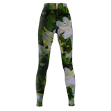 WOMEN'S YOGA PANTS 02 - IN THE GARDEN