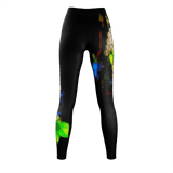 WOMEN'S LEGGINGS 04 - IN THE GARDEN