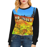 WOMEN'S SWEATSHIRT CROPPED 04 - AROUND LA