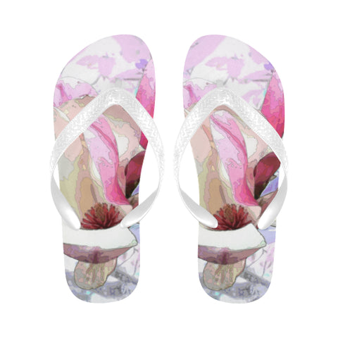 WOMEN'S FLIP FLOPS 02 - IN THE GARDEN