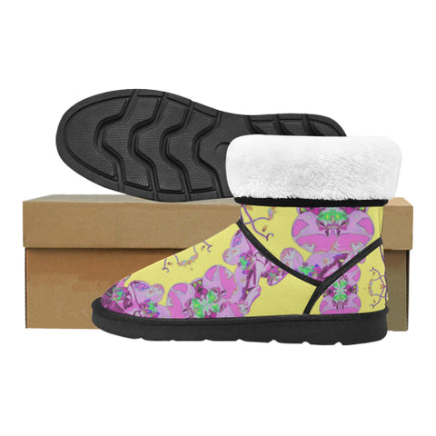 WOMEN'S SNOW BOOTS 02 - IN THE GARDEN