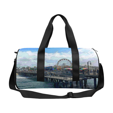 DUFFLE BAG 03 - AT THE WATER'S EDGE / SANTA MONICA PIER
