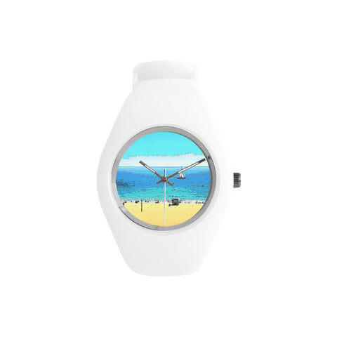 WOMEN'S WATCH (WHITE) 01 - AT THE BEACH