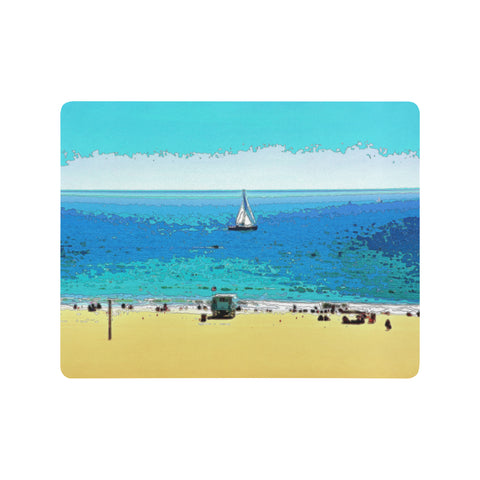MOUSE PAD 01 - AT THE BEACH