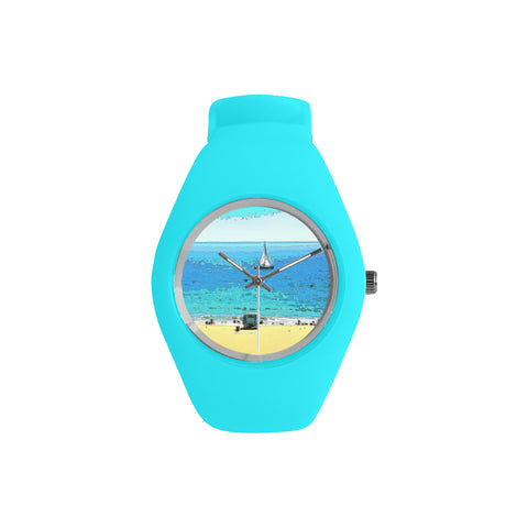 WOMEN'S WATCH (TURQUOISE) 01 - AT THE BEACH