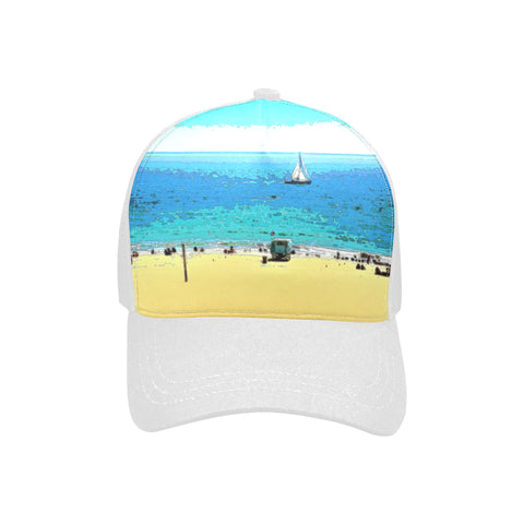 WOMEN'S BASEBALL CAP 03 - AT THE BEACH