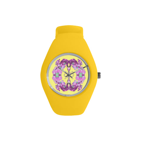 WOMEN'S WATCH (YELLOW) 01 - IN THE GARDEN